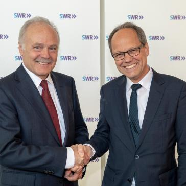 Peter Boudgoust und Kai Gniffke