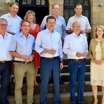 Gruppenbild des neuen Fraktionsvorstandes der CDU-Landtagsfraktion